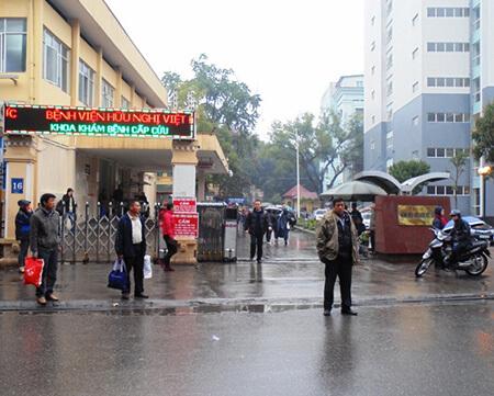 Tới Bệnh viện Việt Đức bắng xe buýt