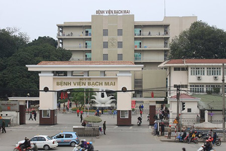 Bệnh Viện Bạch Mai - Số  78 Đường Giải Phóng, Phương Đình, Đống Đa, Hà Nội