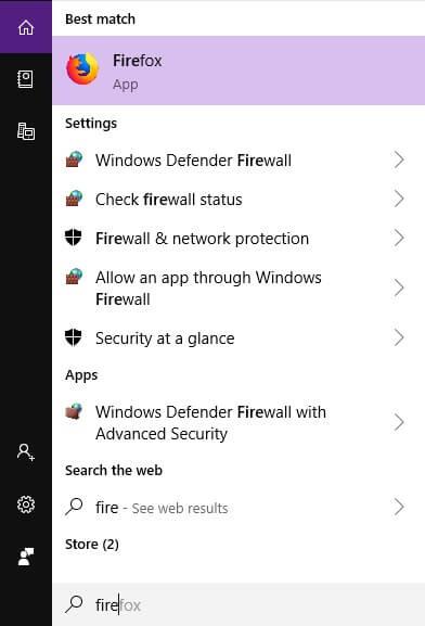 tìm kiếm firewall