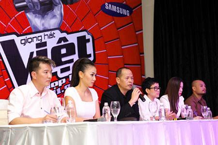 Nguyễn Quang Minh trong chương trình Giọng Hát Việt