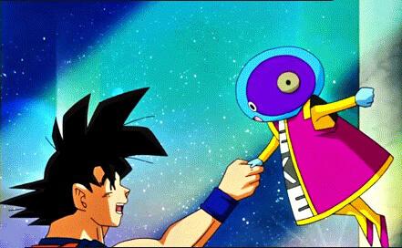 Zenou Sama và Goku
