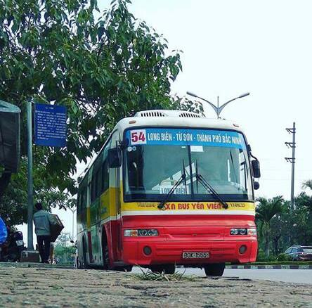 xe bus 54 đi hà nội bắc ninh