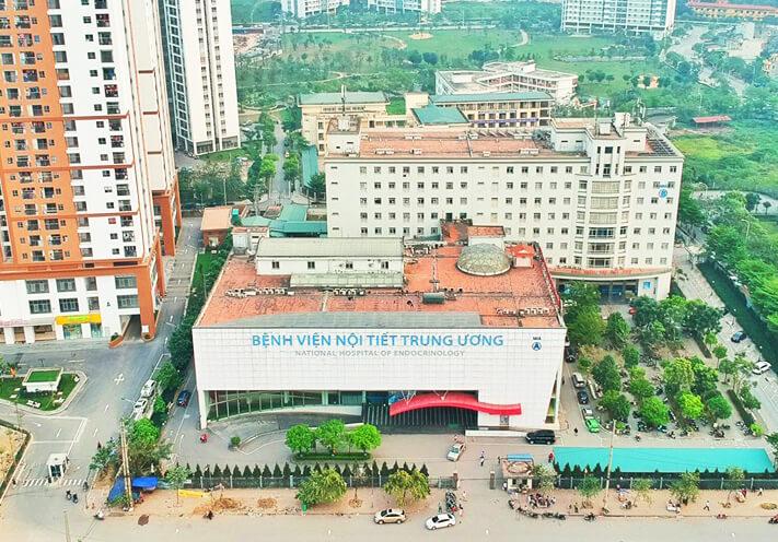 xe bus qua Bệnh viện Nội tiết trung ương